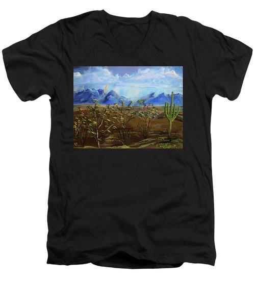 Santa Rita Glory Men's V-Neck T-Shirt