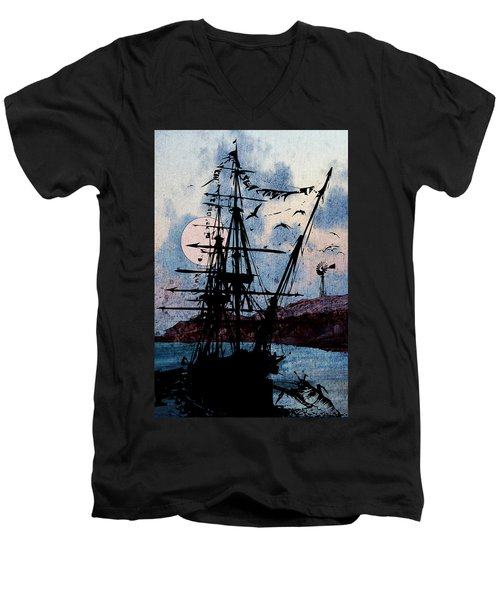 Seafarer Men's V-Neck T-Shirt