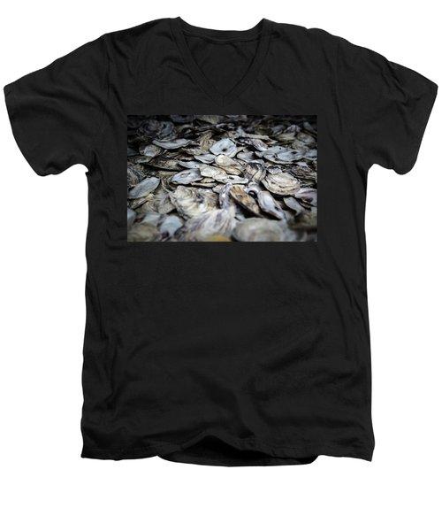 Seashells Men's V-Neck T-Shirt