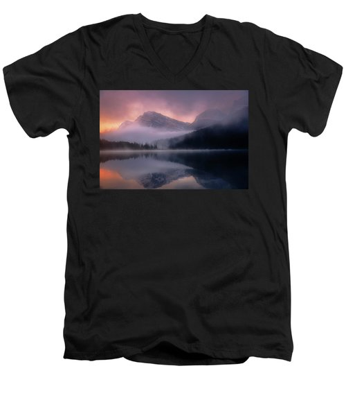 September Sunrise Banff Men's V-Neck T-Shirt