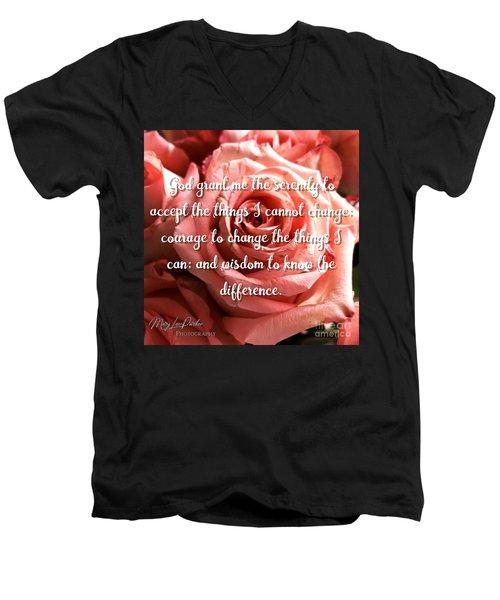 Serenity Prayer II Men's V-Neck T-Shirt
