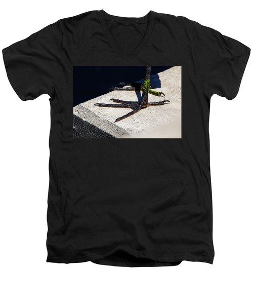 Sharp Perspective  Men's V-Neck T-Shirt