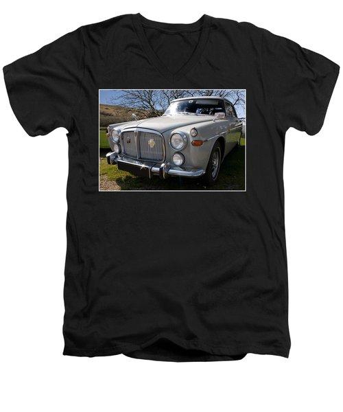 Silver Rover P5b 3.5 Ltr Men's V-Neck T-Shirt