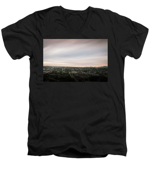 Sky View Men's V-Neck T-Shirt