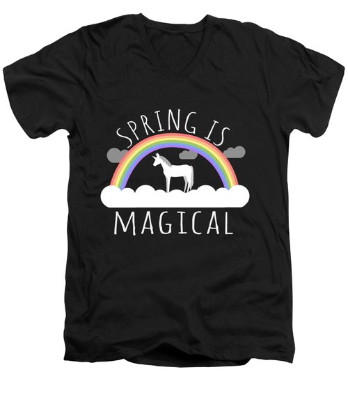Spring Is Magical Men's V-Neck T-Shirt