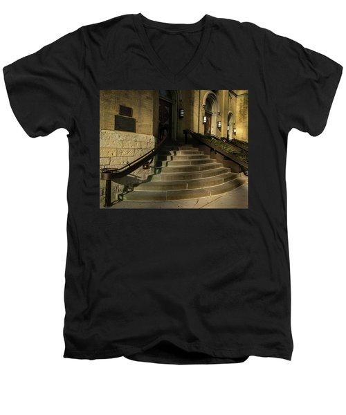 St Pete's Catholic Church Men's V-Neck T-Shirt