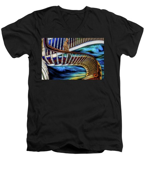 Stairway To Perdition Men's V-Neck T-Shirt