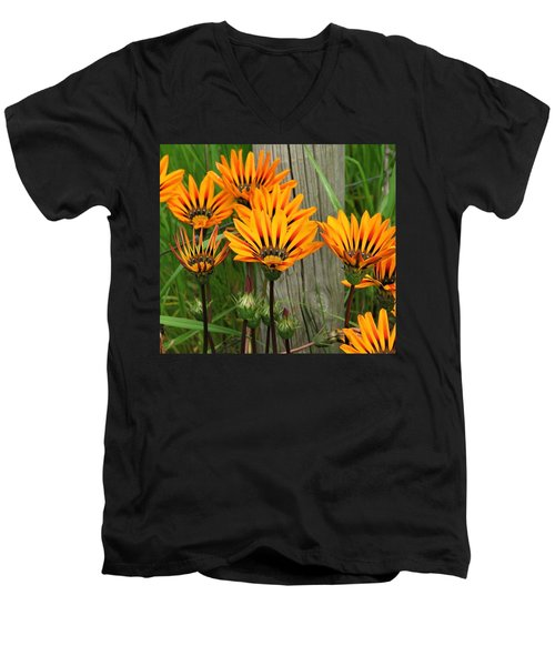 Standing To Attention  Men's V-Neck T-Shirt