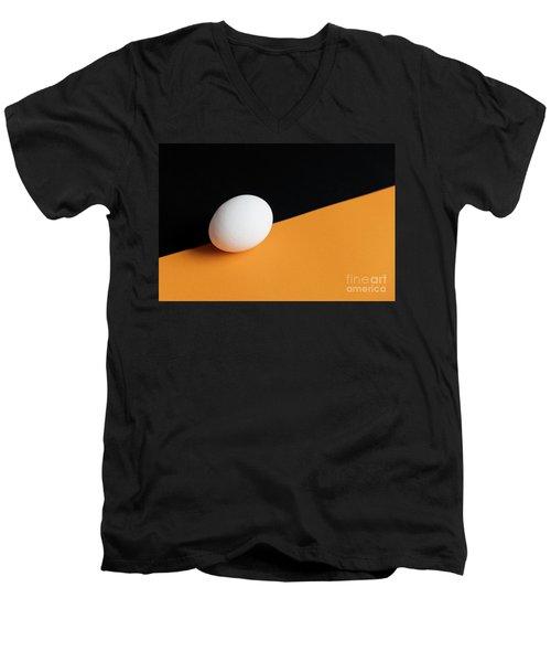 Still Life With Egg Men's V-Neck T-Shirt