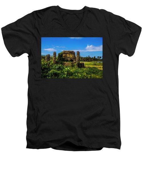 Stone Oven Men's V-Neck T-Shirt