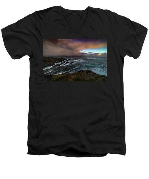 Storm Coastline Men's V-Neck T-Shirt