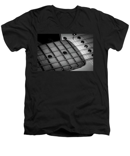 Men's V-Neck T-Shirt featuring the photograph Strings Series 12 by David Morefield