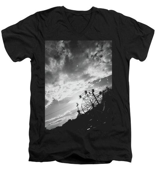 Summertime Wheeling Men's V-Neck T-Shirt