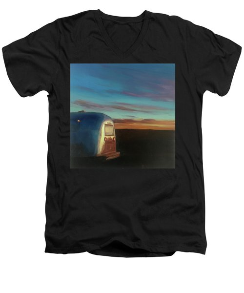 Sunrise Near Amarillo Men's V-Neck T-Shirt