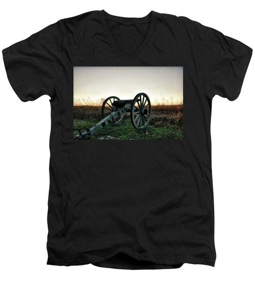 Sunset In Defense Men's V-Neck T-Shirt