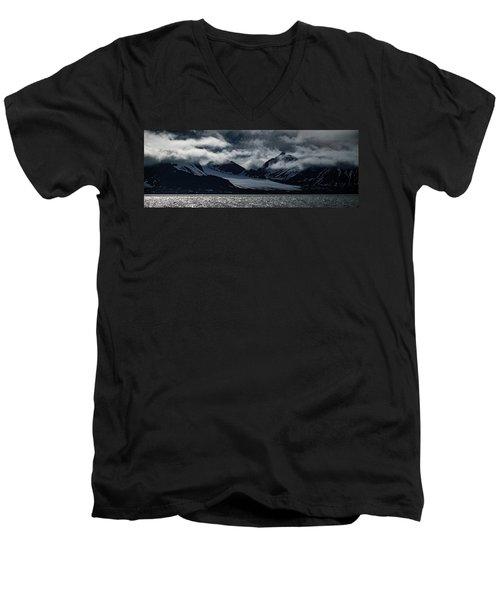 Svalbard Mountains Men's V-Neck T-Shirt