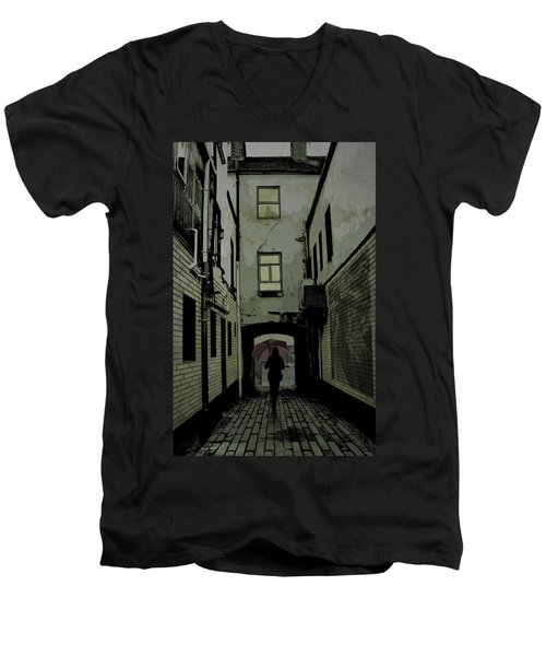 The Back Way Men's V-Neck T-Shirt