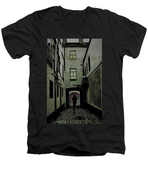 The Back Way Men's V-Neck T-Shirt