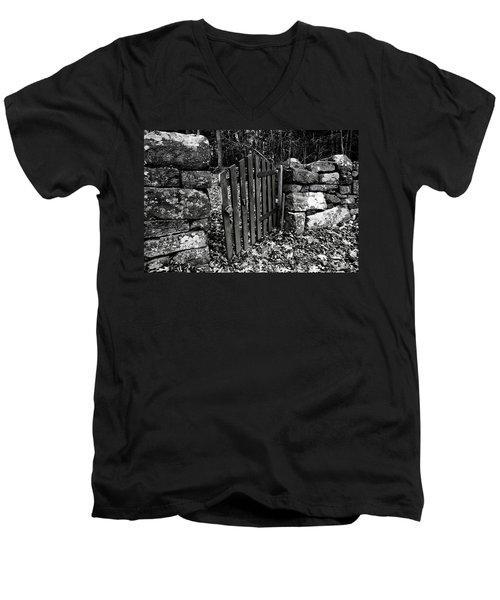 The Garden Entrance Men's V-Neck T-Shirt