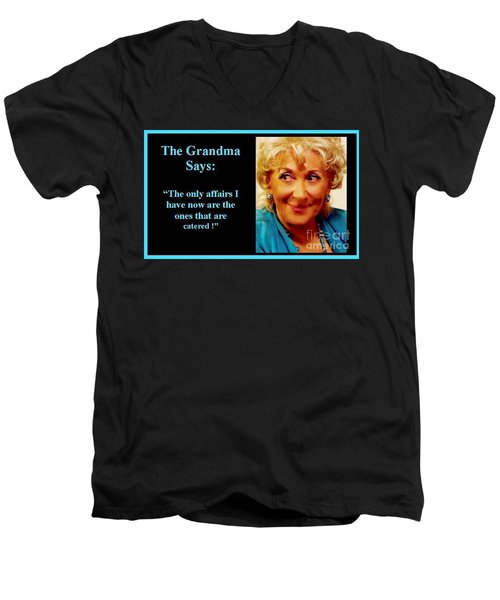 The Grandma's Affairs Men's V-Neck T-Shirt