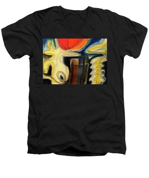 The Whirler Men's V-Neck T-Shirt