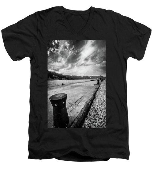 The Winter Sea #3 Men's V-Neck T-Shirt