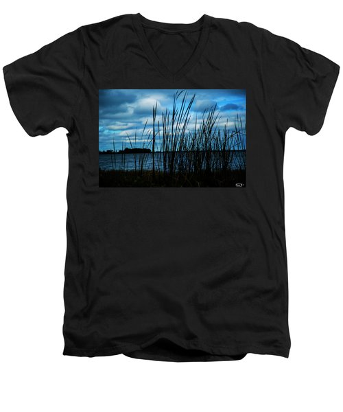Through The Grass Men's V-Neck T-Shirt