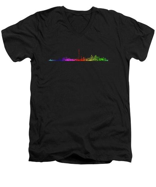 Toronto Rainbow Men's V-Neck T-Shirt