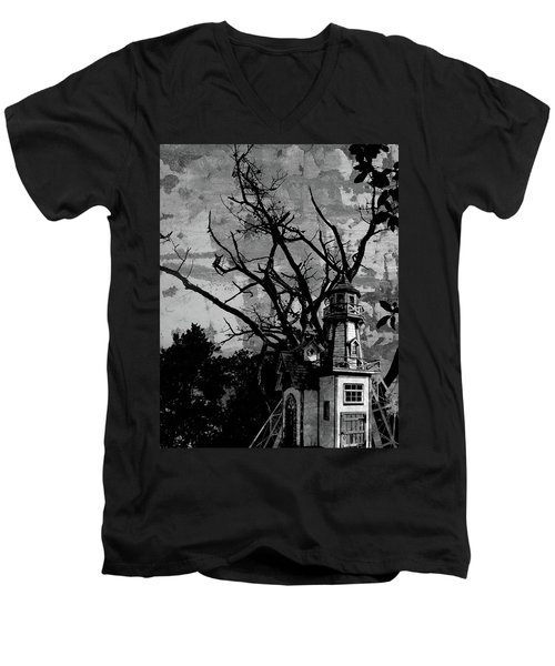 Treehouse I Men's V-Neck T-Shirt