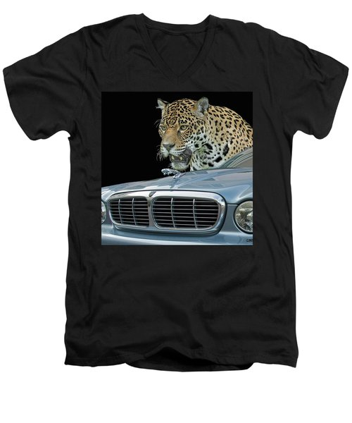 Two Jaguars 2 Men's V-Neck T-Shirt