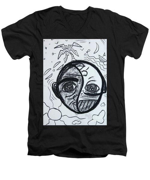 Untitled Sketch IIi Men's V-Neck T-Shirt