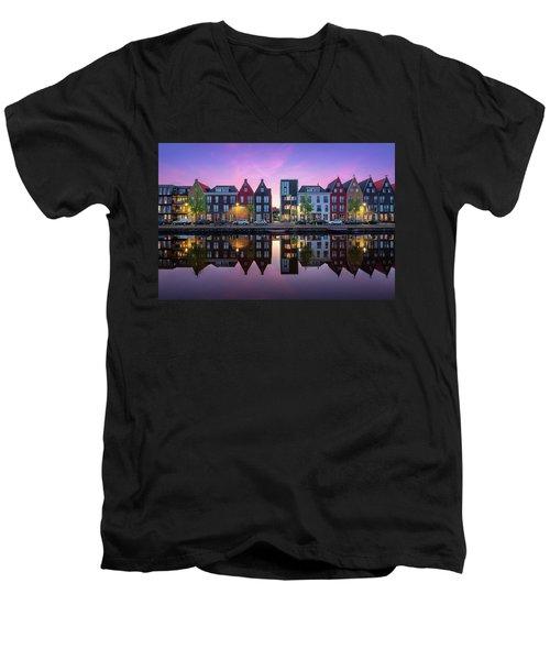Vathorst Reflections Men's V-Neck T-Shirt