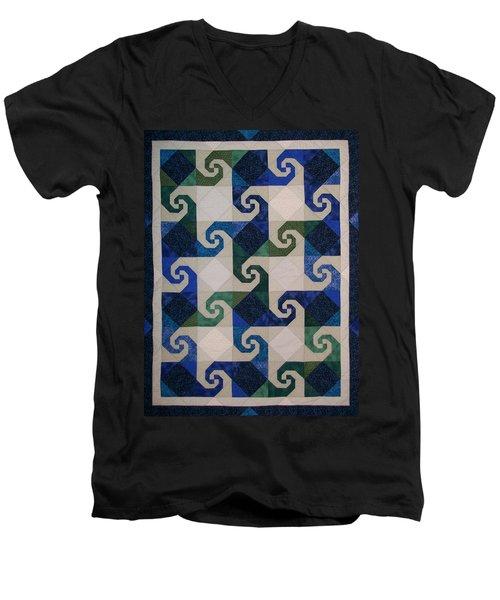 Virginia Reel Men's V-Neck T-Shirt