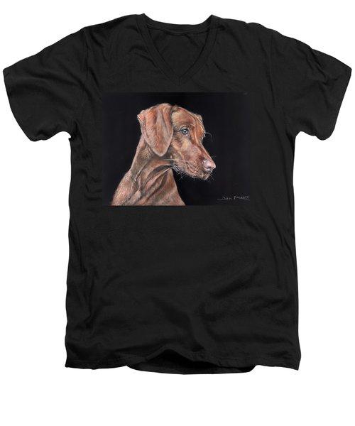 Weimaraner Portrait Men's V-Neck T-Shirt