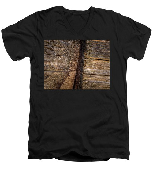 Wooden Wall Men's V-Neck T-Shirt