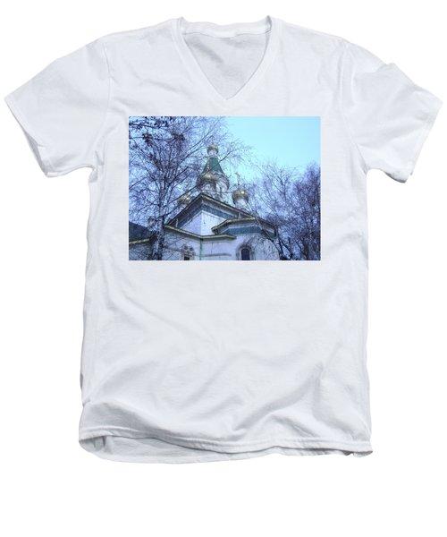 Orthodox Church Men's V-Neck T-Shirt