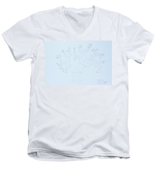 Quantum Tree Men's V-Neck T-Shirt