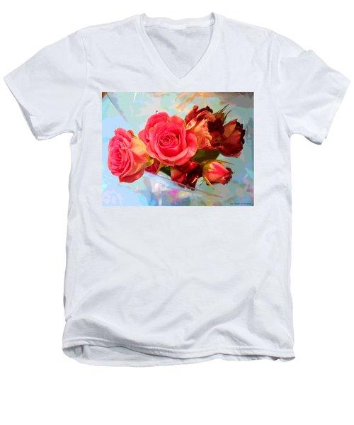 Roses 4 Lovers  Men's V-Neck T-Shirt