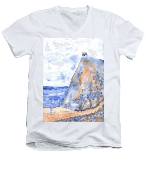 The House On The Hill 5 Men's V-Neck T-Shirt