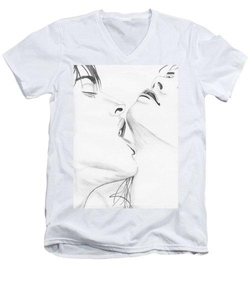 054 Men's V-Neck T-Shirt