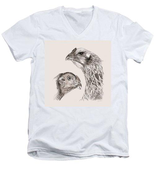 51. Game Hens Men's V-Neck T-Shirt