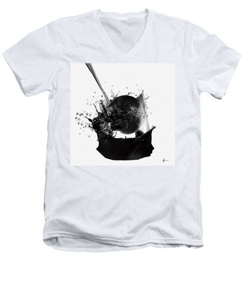 A World Within My Paint Pot ...---.... Men's V-Neck T-Shirt