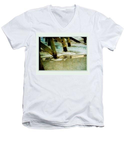 Ab Pilings Men's V-Neck T-Shirt
