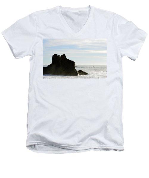Beach Beauty  Men's V-Neck T-Shirt