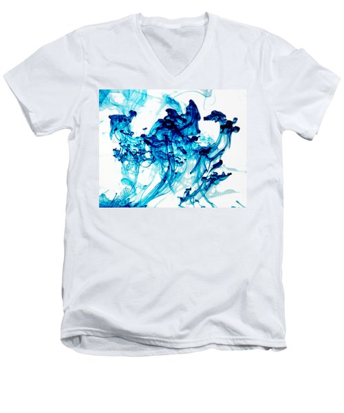 Blue Chaos Men's V-Neck T-Shirt