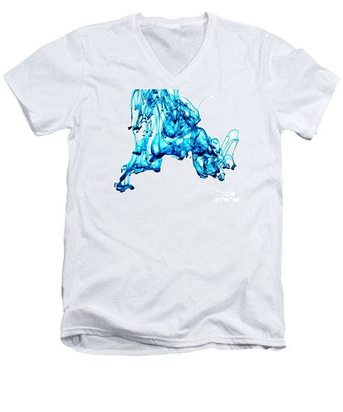 Blue Descent Men's V-Neck T-Shirt