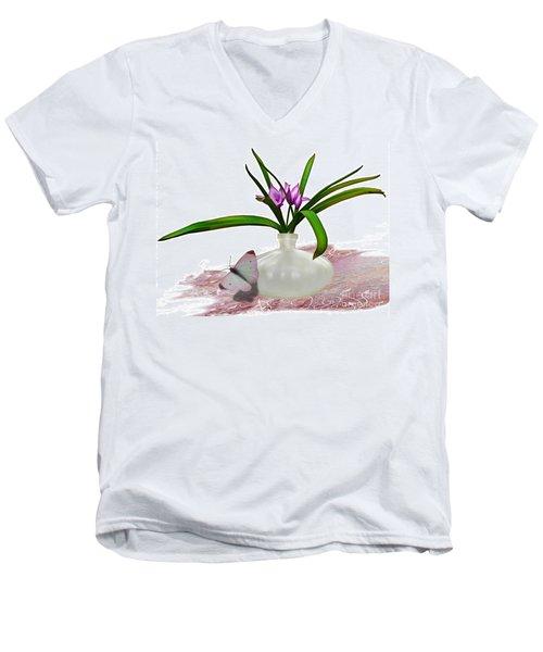 Bouque  Men's V-Neck T-Shirt