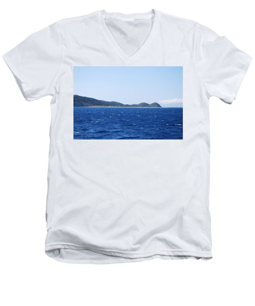 Bragini Beach Men's V-Neck T-Shirt