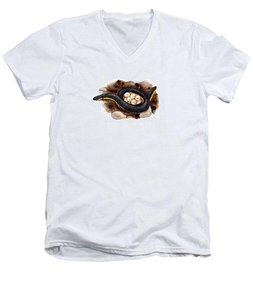 Caecilian Men's V-Neck T-Shirt
