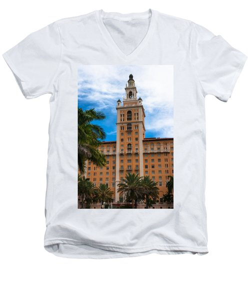 Coral Gables Biltmore Hotel Men's V-Neck T-Shirt